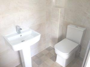 Small Washroom Refurbishment Cambridge